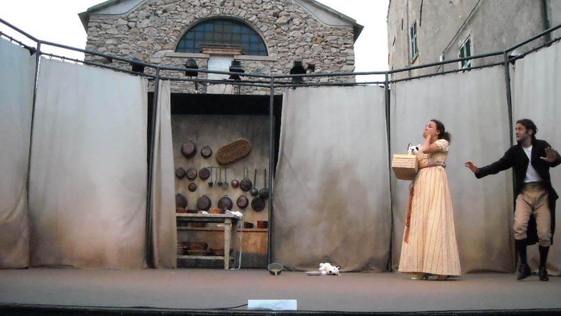 """2010 –  Allestimento Teatrale  """" L' uomo Prudente """" di Goldoni"""