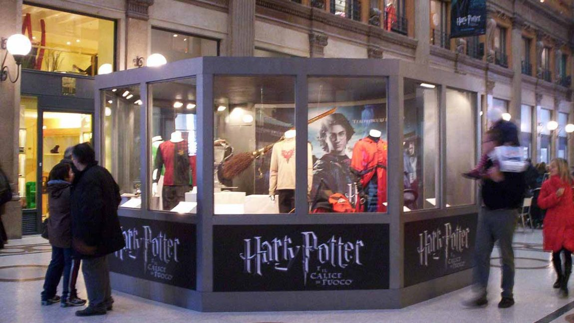 """2005  –  Special Exibition for the movie """"Harry Potter and the Goblet of Fire"""""""
