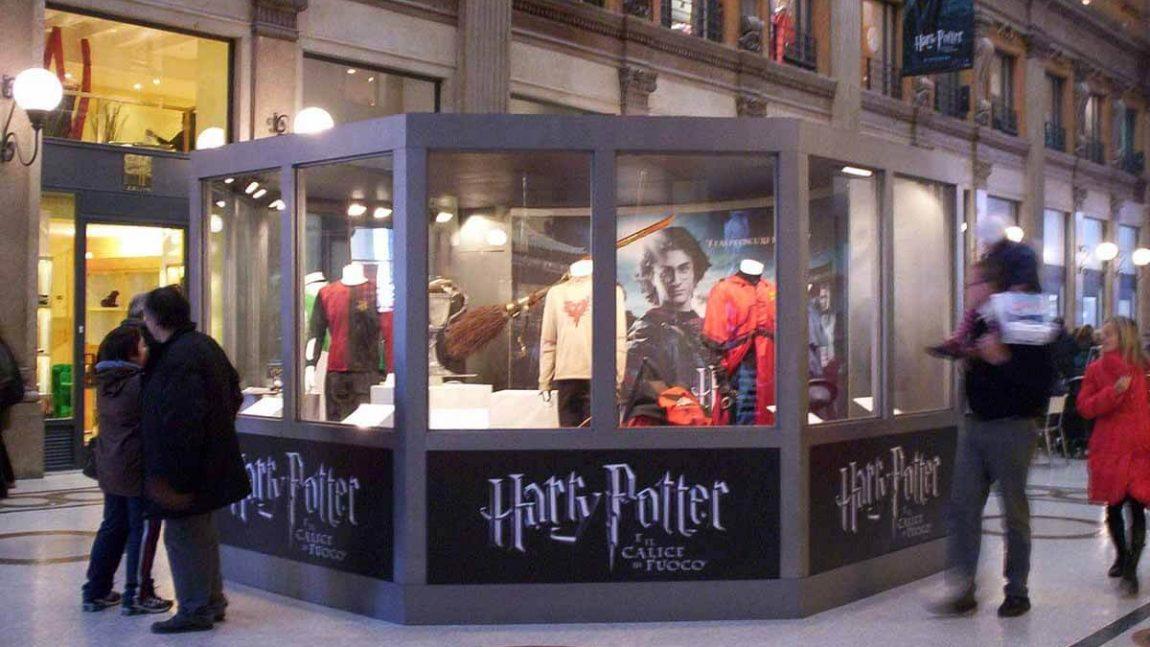 """2005  –  Evento speciale  presentazione film """"Harry Potter e il calice di fuoco """""""
